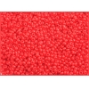 Seedbead Opaque Light Red 10/0
